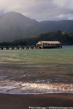 Hanalei Bay Pier Pictures
