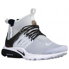 Nike air presto mid utility-men s-running-shoes-wolf grey white black -sku 9524005 c4fe41bef