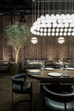 YoDezeen Restores Fish Restaurant CATCH in Kiev #restaurantdesign