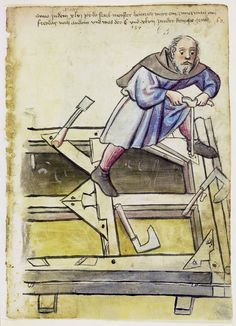 The Saint Thomas guild is a Dutch medieval re-enactment group. It represents the woodworking guild in Nimweghen around 1370. This blog will present their woodworking projects, medieval joinery and furniture as well as other crafts.