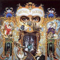 "CvA065. Michael Jackson - ""Dangerous"" by Mark Ryden / Epic 1991 / #Albumcover"