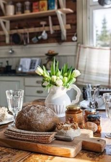 Country Kitchen, Country Life, Country Living, Country Charm, Casa Hipster, Kitchen Dining, Kitchen Decor, Homey Kitchen, Design Kitchen
