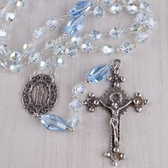 If Cinderella had a rosary, this one would be it.