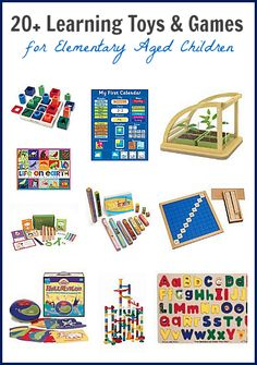 Toy Gift Guide: Over 20 Learning Toys & Games for Elementary Aged Children~ Buggy and Buddy