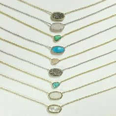 Kendra Scott necklaces Go to rocksbox.com and use code baileylbff1. You'll receive your first collection (of 3 pieces of jewelry) in the mail. $19 a month!!! Designers like Kendra Scott, Perry Street, Elisa M, SLATE, Lauren Hope, etc. USE THE CODE!!!!! Jewelry Necklaces