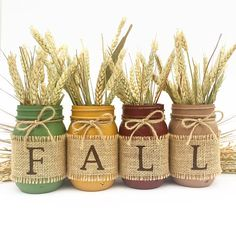 THE ORIGINAL Fall Mason Jars Autumn Home Decor Fall Decor