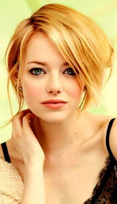 19. Emma Stone returns to this years' list with those stunning eyes, and that…