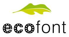 Mit #ecofont Tinte/Toner und Geld sparen. Bis zu 50% weniger Verbrauch.