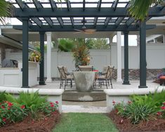 Pergola is an arrangement with framework swathed in trailing plants. These are mostly used to décor outdoor area of your home. The Pergola in deck area gives… Diy Pergola, Black Pergola, Steel Pergola, Building A Pergola, Deck With Pergola, Pergola Shade, Pergola Ideas, Wooden Pergola, Building Plans