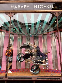 Harvey Nichols Circus window July 2015