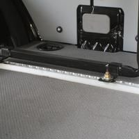 "Townley Sprinter Van 144"" Cargo - Comfort Microwave Wall Cabinet, Wall Storage Cabinets, Base Cabinets, Shelves, Sprinter Van, Camper Beds, Led Puck Lights, Bus House, Van Design"