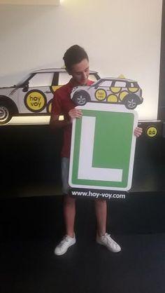 JOSE LUIS MANZANO!!! #hoyvoy #autoescuela #hospitalet