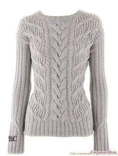 HOW to knit Pullover from IRIS VON ARNIM / Amazing Handmade