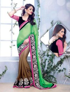 Sarees Online: Shop the latest Indian Sarees at the best price online shopping. From classic to contemporary, daily wear to party wear saree, Cbazaar has saree for every occasion. Latest Indian Saree, Indian Sarees Online, Latest Sarees, Buy Sarees Online, Lehenga Saree, Georgette Sarees, Sari, Satin Saree, Chiffon Saree