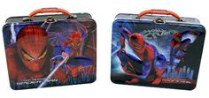 Spider-Man Inspired Tin Tote Metal Carry-all Lunch Box (Officially Licensed by Marvel) The tin box company,http://www.amazon.com/dp/B0082GTE9W/ref=cm_sw_r_pi_dp_FoLXsb1NDFNG0B22
