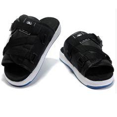 Designer Men Black Leather Punk Rock Gladiator Fashion Sandals SKU-1280699