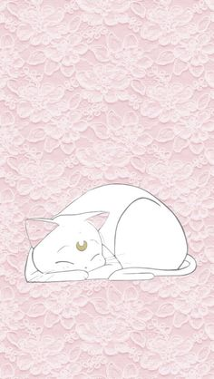 Uploaded by - ̗̀nicole ̖́-. Find images and videos about cute, pink and art on We Heart It - the app to get lost in what you love. Kawaii Wallpaper, Cute Wallpaper Backgrounds, Phone Backgrounds, Cool Wallpapers For Phones, Cute Wallpapers, Phone Wallpapers, Neko, Kawaii Background, Sailor Moon Luna