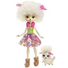Check out the Enchantimals Lorna Lamb Doll at the official Mattel Shop website. Explore the world of Enchantimals today! Mattel Barbie, Mattel Shop, Polly Pocket, Monster High, Sheep Ears, Doll Toys, Dolls, Pink Sheep, Shops