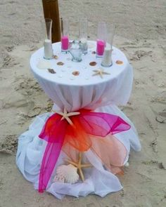 Elegant sand unity ceremony by Simple Elegant Weddings - choose your theme and decor color!