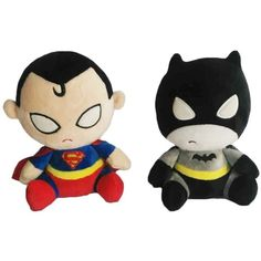 "AmazonSmile: 7.8"" Cute Batman Vs Superman Stuffed Plush Toys Dolls Kids Gift: Toys & Games featuring and polyvore,"