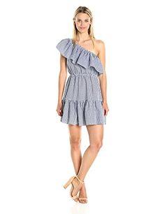 MINKPINK Women's Wanderer Gingham Print One Shoulder Dres... https://www.amazon.com/dp/B01MUAPCF0/ref=cm_sw_r_pi_dp_x_Bm82yb27VJ9EN