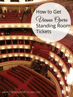 How to see a Vienna Opera for cheap