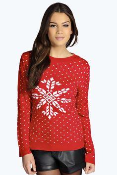 937cc0a7cc1 Ladies Xmas Christmas Jumper Womens Tunic Fairisle Novelty Sweater ...