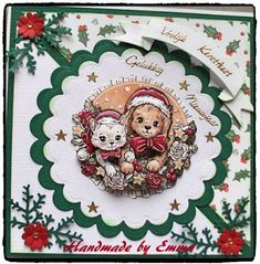 Christmas Cards To Make, Christmas Themes, Marianne Design, Xmas Decorations, Cardmaking, Decorative Plates, Recycling, Creations, Clip Art