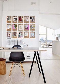 Cómo colgar láminas sin marcos   Decorar tu casa es facilisimo.com