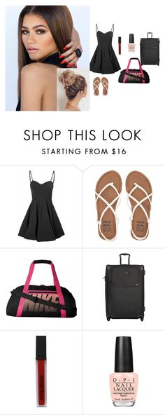 """""""*Packing* ~Ange"""" by typxcal-lxve-lxve ❤ liked on Polyvore featuring interior, interiors, interior design, home, home decor, interior decorating, Glamorous, Billabong, NIKE and Tumi"""