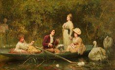 Fair Quiet and Sweet Rest - 1872 - Samuel Luke Fildes (english painter)