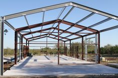 Building a Barndominium (pic heavy) - Texas Hunting Forum Metal Building Kits, Metal Building Homes, Building A House, A Frame House Plans, Pole Barn House Plans, Barn With Living Quarters, Cladding Design, Building Foundation, Steel Structure Buildings