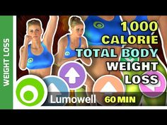 1000 Calorie Workout - Weight Loss Total Body - YouTube Muscle Gain Workout, Gain Muscle, Losing Weight Tips, How To Lose Weight Fast, 7 Minute Workout, 7 Day Challenge, Best Weight Loss Foods, Belly Fat Workout, Fat Burning Workout
