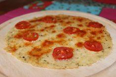 """Pizza """"těsto"""" z jedné ingredience"""