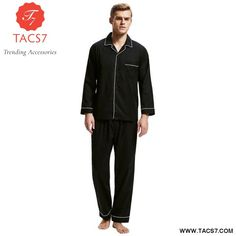f107355c3b Nightwear Long Sleeve Men s Nightgown