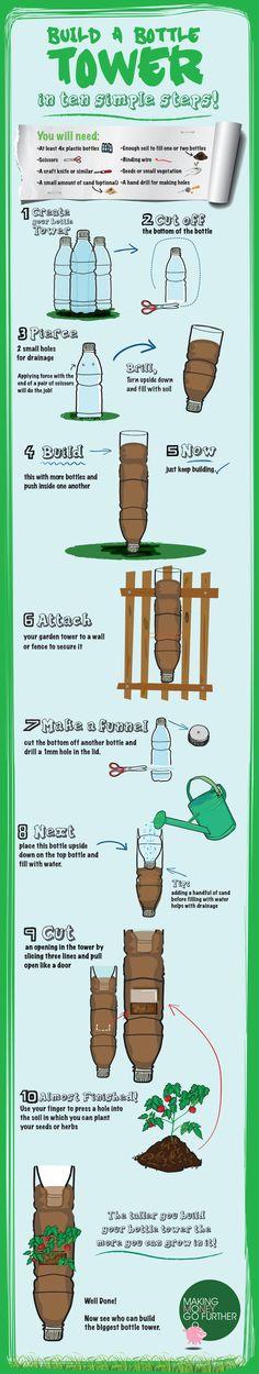 Build your own garden tower
