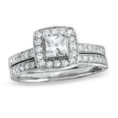 Dressed in diamonds.