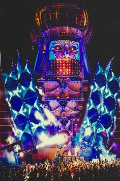 QDANCE stage at edclv <3 #edc #qdance #hardstyle #insomniacevents
