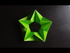 Modular Origami - How to make Modular Complex Star Origami - YouTube
