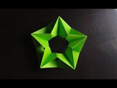 Modular Origami - How to make Modular Complex Star Origami - YouTube