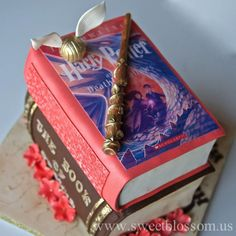 Harry Potter Stacked books cake