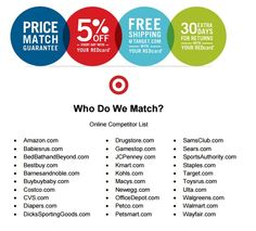 Price Match Policy @ Target