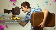 Realizate! #realizacion #fp #gradosuperior #cine #audiovisuales #escuelaces