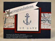 Retirement from the Navy Card by stamplady102 - Cards and Paper Crafts at Splitcoaststampers