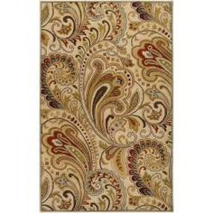 @Overstock.com - Hand-tufted 'Envoy' Ivory Wool Rug (8' x 11') - A striking, paisley-inspired floral print lens dimension to this lovely hand-tufted rug. Construct of plush wool, this rug features a soft, inviting color palette and a lofty pile.  http://www.overstock.com/Home-Garden/Hand-tufted-Envoy-Ivory-Wool-Rug-8-x-11/6479840/product.html?CID=214117 CAD              843.20