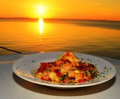 Recipe: Key West Pink Shrimp and Florida Spiny Lobster Tails Sauteed with Hot Key Lime Butter Sauce. OH man! Lobster Recipes, Shrimp Recipes, Sauce Recipes, Lime Recipes, Seafood Pasta, Seafood Dishes, Fish And Seafood, Key Lime Butter, Stick Of Butter