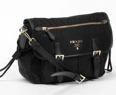 prada authentic bags - Vela Flap-Front Messenger Bag, Black (Nero) by Prada at Bergdorf ...