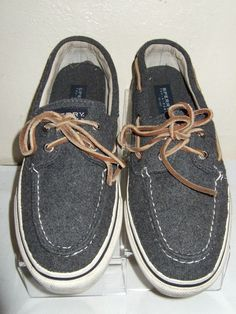 4aea2ed056 Sperry Top-Sider Dark Gray Slip On Boat Shoes Men s Size 8.5 Medium   fashion  clothing  shoes  accessories  mensshoes  casualshoes (ebay link)