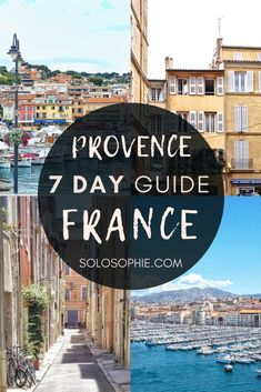 One week in Provence