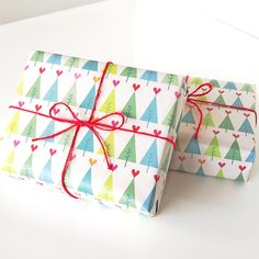 christmas gift wrapping paper by asugatic